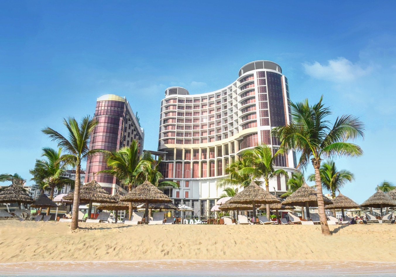 Holiday Beach Danang Hotel Resort Close To Hectic Downtown Which Was Voted One Of The Six Most Exquisite Beaches By Forbes Magazine