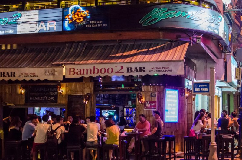 Top 10 best bars and night clubs in Da Nang, vibrant nightlife.