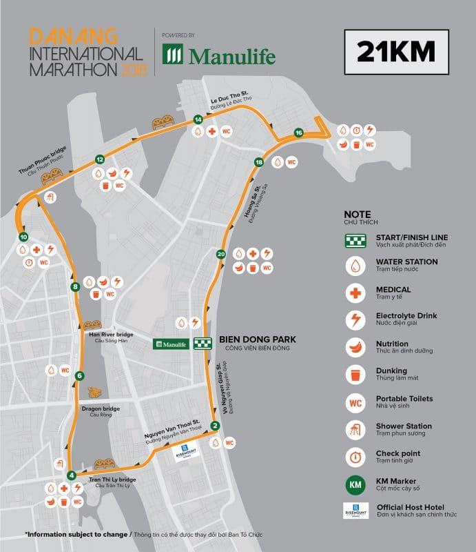 MANULIFE DANANG INTERNATIONAL MARATHON 2018: RACE INFO