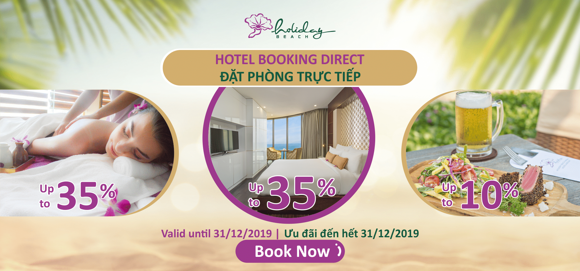 Direct booking - more benefits